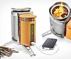 Ultimate Outdoor Gadget: BioLite campingbrander