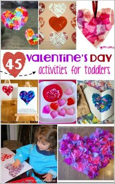 These valentine's day activities for toddlers are perfect for little hands. They kept my kids busy and having fun!