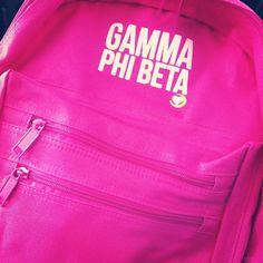 Gamma Phi Beta backpack