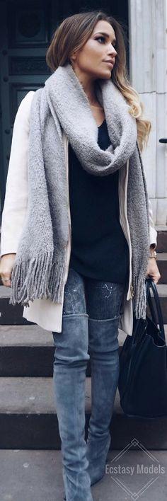 Fall Layers // Fashion Look by Luana Silva
