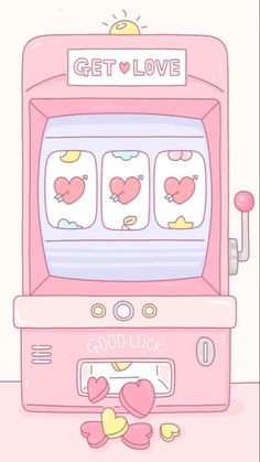 Image discovered by 🍥🐰MιssCαһ🐰🍥. Find images and videos about cute, pink and wallpaper on We Heart It - the app to get lost in what you love. Soft Wallpaper, Kawaii Wallpaper, Aesthetic Iphone Wallpaper, Aesthetic Wallpapers, Kawaii Drawings, Cute Drawings, Wallpaper Fofos, Images Kawaii, Love Machine