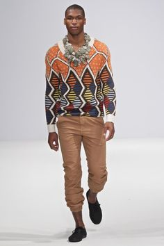 """Maxhosa by Laduma Knitwear South Africa  This brand has also been called """"the Missoni of Africa."""""""