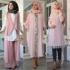 Order these @Modanisa Dusty Pink Pieces from the links listed on the blog www.hijabfashioninspiration.com/dusty-pink LINK IN BIO