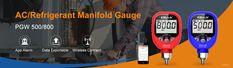 Free App (supported ioS and Android) Settable high/low-pressure alarm #elitech #pressuregauge #hvac #manifoldgauge Digital Pressure Gauge, Data Logger, Battery Indicator, App Support, Alkaline Battery, Air Conditioning System, Gauges, Ios, High Low