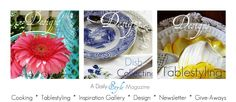 Designs by Gollum - recipes, tablestyling, Foodie Fridays