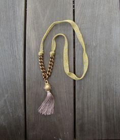 Honey Pie Tasseled Necklace