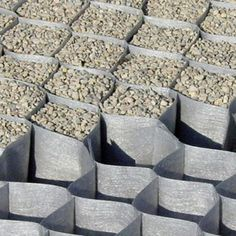 DuPont GroundGrid Ground Stabilization Large Grid (4' x 25') SKU: AGS-DPGG-50110 Product Weight 7.50 Pounds This honeycomb grid geotextile is a 3-D system for soil stabilization. Simply fill the grid with gravel, rock, sand or loam. Water permeable. Cell dimensions: 50 mm x 110 mm, 2 inches deep.