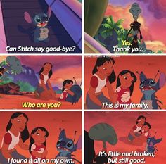 Quotes Disney Movies Funny Lilo Stitch 34 Ideas For 2019 Lilo And Stitch Quotes, Lilo Und Stitch, Lilo And Stitch Movie, Lilo And Stitch Ohana, Disney Stitch, Deviantart Disney, Disney Love, Disney Magic, Disney Stuff