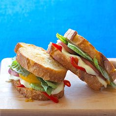 8 vegetarian sandwiches you'll love. Pack in your veggies with these easy recipes.   Health.com