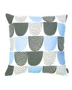 Kauniste- Sokeri Blue Cushion Cover fr Artsy Modern $32