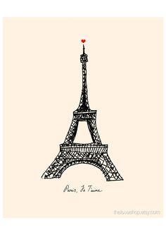 Paris. Je Taime. French love