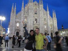 Con Violetta al Duomo...