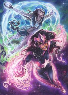 Star Sapphire and Indigo by Meghan Hetrick