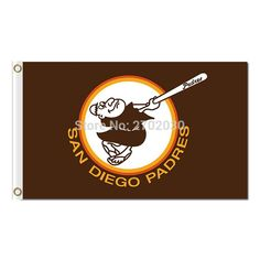#SAN #DIEGO #PADRES #FLAG #WORLD #SERIES #CHAMPIONS #BASEBALL #FANS #TEAM #FLAGS #BANNER #90X150CM #BANNERS