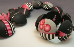 polymer clay jewelry by judybelcher