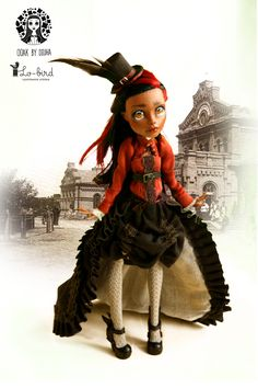 OOAK Monster high Robecca Steam