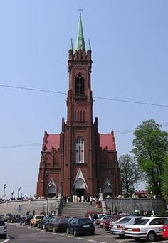 Zgierz, Poland.   Moms church