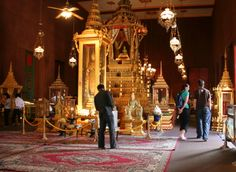 Interior of Silver pagoda at Royal Palace
