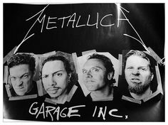 Mum found my Big Day Out Metallica poster! | Flickr - Photo Sharing!