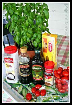 Makin' it Mo' Betta: Spaghetti with Quick Roasted Cherry Tomato Sauce