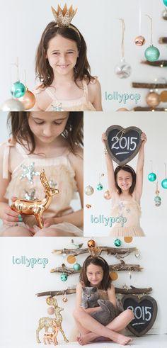 Christmas photography mini session set