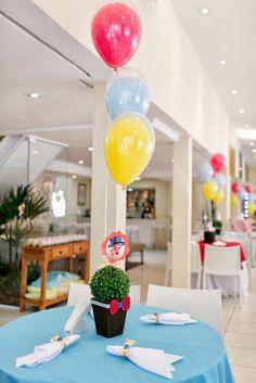 Decoração - Frescurinhas Personalizadas   Buffet - Villa Party   Bolo - Le Malu Atelier   Maçã do amor - Carla Andrade   Bonecos - Parece G...