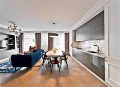Elegant Apartment in Vilnius by Indre Sunklodiene