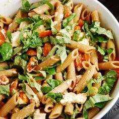 This is an incredibly fresh and delicious pasta salad recipe that is a crowd pleaser every time. By bulking up a traditional Caprese Salad with pasta, you get a more filling dish that still delivers that garden-fresh flavor.