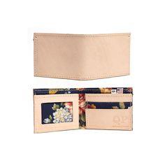 Men's Wallet - Tan Floral