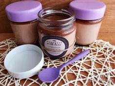 iogurtes de chocolate e menta