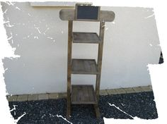 Réservée, Etagère en bois avec 3 plateaux : Meubles et rangements par pleasant-home