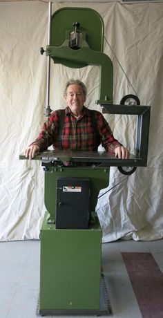 Bandsaw Extension by Ron Sutton - I've converted a 14 inch bandsaw to 28 inches, so that I can now cut a 4x8 in half, that is, rip it down the middle.See the pictures and ask me any questions if you'd like.