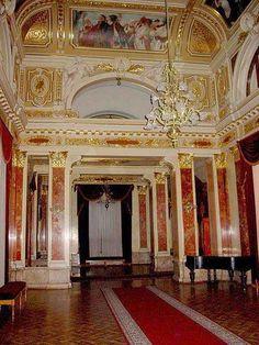 Lobby in Lviv Opera & Ballet House, Ukraine , from Iryna