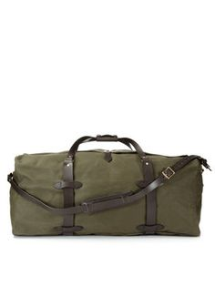 Canvas Large Duffle Bag from Filson Accessories on Gilt