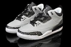 Nike Air Jordan 3s Wolf Grey
