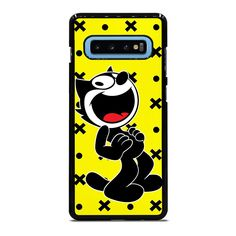 FELIX THE CAT Samsung Galaxy S10 Plus Case Cover Vendor: favocase Type: Samsung Galaxy S10 Plus case Price: 14.90 This extravagance FELIX THE CAT Samsung Galaxy S10 Plus Case Cover shall give cool style to yourSamsung S10 phone. Materials are from durable hard plastic or silicone rubber cases available in black and white color. Our case makers customize and design each case in finest resolution printing with good quality sublimation ink that protect the back sides and corners of phone from… Felix The Cats, Black And White Colour, Silicone Rubber, Phone Covers, Cool Style, Samsung Galaxy, How Are You Feeling, Printing, Cases