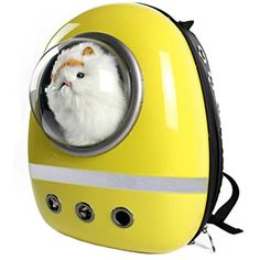 Astronaut Pet Carrier Backpack for Travel, Fit for Dogs Cats and Small Animals 12.8'' x 11.6'' x 16.8'' >>> Click image for more details. (This is an affiliate link) #SmallAnimals