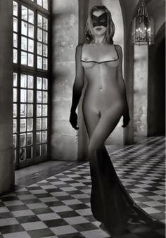 Sensualité et Beauté en noir et blanc
