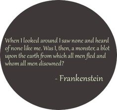 Quotes From Frankenstein Quotes From Frankensteinmary Shelley  Frankenstein  Pinterest