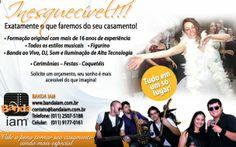 Banda para casamentos www.bandaiam.com.br