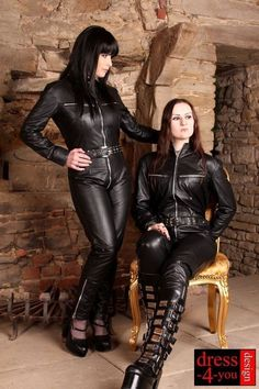 Cochella Outfits, Tomboy Outfits, Sexy Outfits, Pretty Outfits, Leather Jumpsuit, Leder Outfits, Female Supremacy, Sexy Latex, Latex Wear