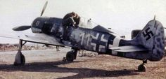 "Focke-Wolf FW 190A-8 ""White 11"", captured by the Americans"