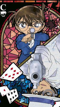 Detective Conan: Quarter Of Silence Movie 15 Conan Comics, Detektif Conan, Anime Disney, Manga Anime, Anime Art, Detective Theme, Detective Conan Shinichi, Kaito Kuroba, Game Wallpaper Iphone