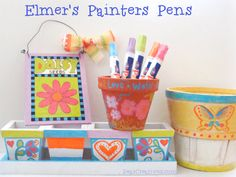 Elmer's Painters Markers can dress up any variety of everyday items.