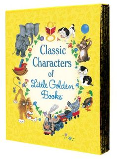 Classic Characters of Little Golden Books: The Poky Little Puppy, Tootle, The Saggy Baggy Elephant, Tawny Scrawny Lion, and Scuffy the Tugboat by Various,http://www.amazon.com/dp/0375859349/ref=cm_sw_r_pi_dp_j-Imsb0VAE12WKYB