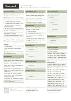 bash Cheat Sheet from gregcheater.