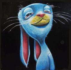 Snoop rabbit. by-Brett Superstar