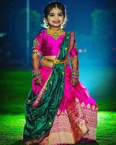 Cutest bridesmaid ever 😍 Photography Kids Dress Wear, Kids Gown, Dresses Kids Girl, Kids Outfits, Baby Dresses, Kids Wear, Kids Saree, Kids Lehenga, Baby Lehenga
