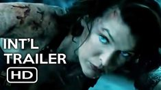 Resident Evil The Final Chapter – Trailer Resident Evil, Full Cast, It Cast, Trailers, Trailer Peliculas, Milla Jovovich, The Book, Finals, Hollywood