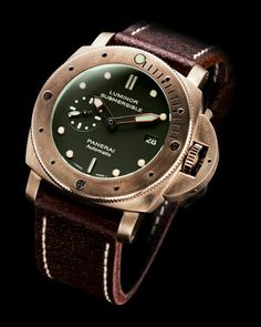 LUMINOR SUBMERSIBLE 1950 3 DAYS AUTOMATIC BRONZO – 47 MM